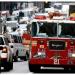 26 heridos en choque de autobús con camión de bomberos