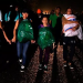 Cientos de hondureños de caravana de migrantes cruzan frontera de Guatemala