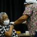Los adultos sienten la vacuna como una inyección de vida