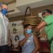 Abinader supervisa el progreso del Plan de Vacunación en hotel