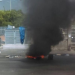 Suspenden la docencia en la UASD por disturbios de encapuchados