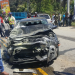 Más de 30 heridos por choque de carro con minibús donde viajaban estudiantes